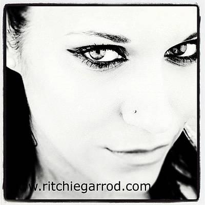 Portraits Photograph - #portrait #photoshoot #bnw #headshot by Ritchie Garrod