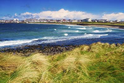 Portrush Photograph - Portrush, Co Antrim, Ireland Seaside by The Irish Image Collection