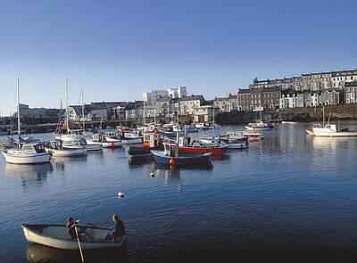 Portrush Photograph - Portrush Harbour, Co Antrim, Ireland by The Irish Image Collection