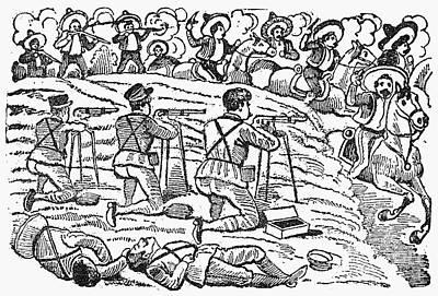 Posada: Battle, 1910-12 Print by Granger