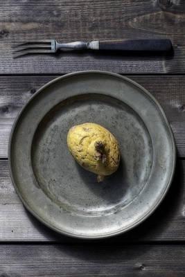 Scruffy Photograph - Potato by Joana Kruse