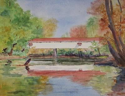 Potters Bridge Original by Anita Riemen