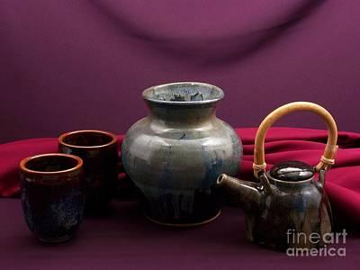 Raku Photograph - Pottery Still Life by Vilas Malankar
