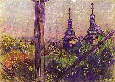 Prague View Print by Sarah Vandenbusch