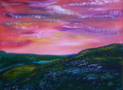 Prairie Lights Print by James Bryron Love