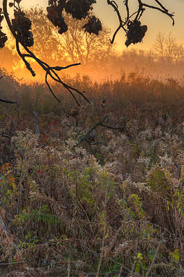 Prairie Sunrise Original by Steve Gadomski