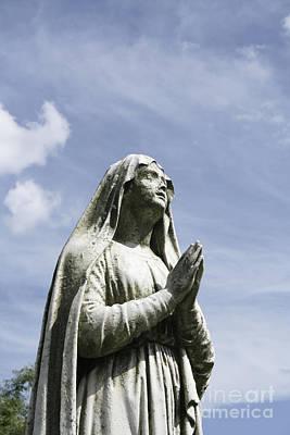 Praying In The Sky.01 Print by John Turek