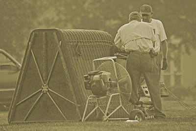 Vmi Photograph - Preparing To Balloon by Betsy C Knapp