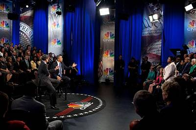 President Barack Obama Participates Print by Everett