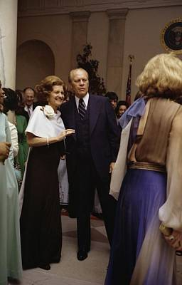 President Ford And First Lady Betty Print by Everett