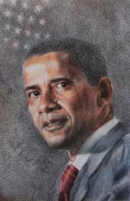 President Print by Joanna Gates