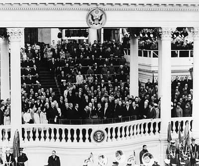 Swearing In Photograph - Presidential Inauguration by Granger