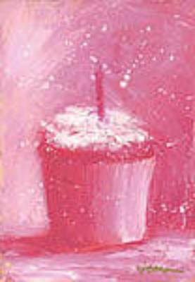 Jeannine Painting - Pretty In Pink by Jeannine Luke