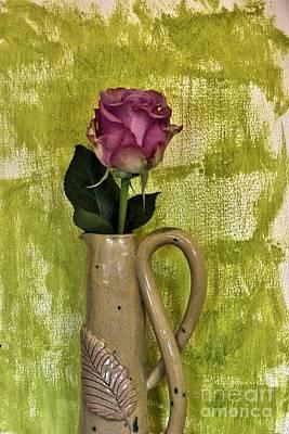 Hand Made Photograph - Pretty Pink Petals by Marsha Heiken