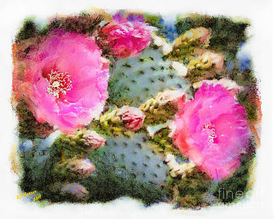 Prickly Pear Print by Arne Hansen