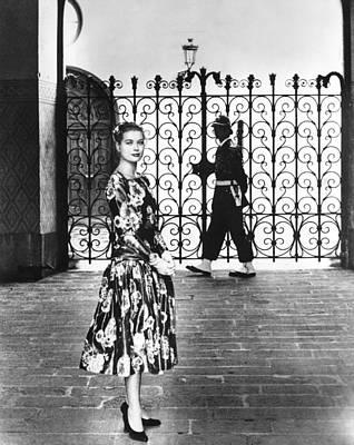 Princess Grace Kelly, 1956 Print by Everett