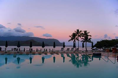 Kauai Photograph - Princeville Pastels by Lynn Bauer
