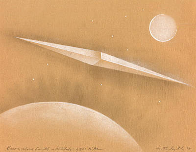 Procon Above Earth Print by Albert Notarbartolo