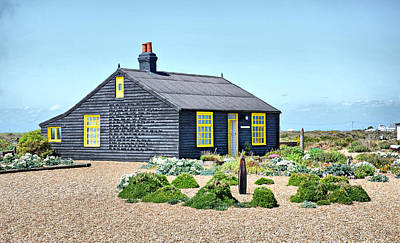 Prospect Cottage Dungeness Print by Chris Thaxter