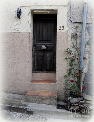 Provence Door Number 33 Print by Lainie Wrightson