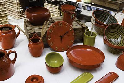 Provence Pottery Print by Thomas  von Aesch