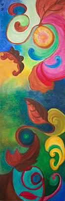 Psychadelic Dream Print by Derya  Aktas