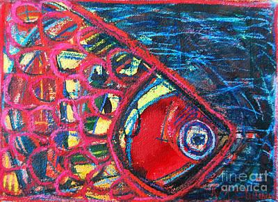 Psychedelic Fish Original by Ana Maria Edulescu