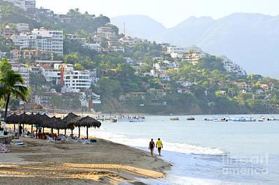 Puerto Vallarta Photograph - Puerto Vallarta Beach by Elena Elisseeva