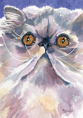 Puffball Of Sweetness Original by Marsha Elliott