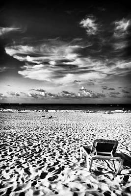 Punta Cana Lounge Print by John Rizzuto