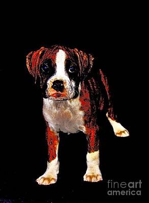 Pup 2 Print by Xn Tyler