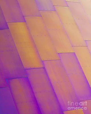 Purple Orange I Print by Chris Dutton