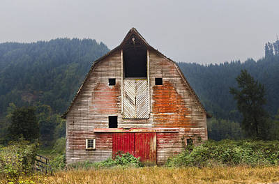Old Country Roads Photograph - Put On A Happy Face by Debra and Dave Vanderlaan