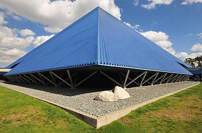 Csu Photograph - Pyramid II - Long Beach Ca by Michael  Kitahara