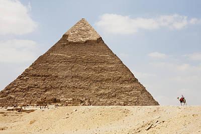 Pyramid Of Khafre Chephren, Giza, Al Print by Peter Langer