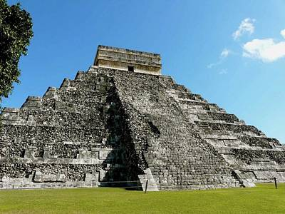 Pyramid Of Kukulcan Print by Cute Kitten Images