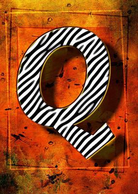 Q Print by Mauro Celotti
