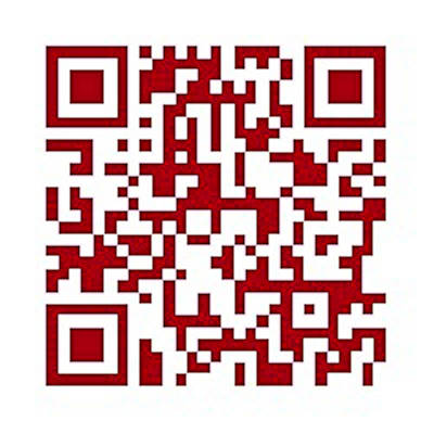 Qr Code To My Website Print by David Patterson