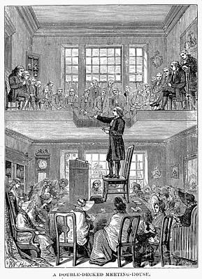 Quaker Meeting House Print by Granger