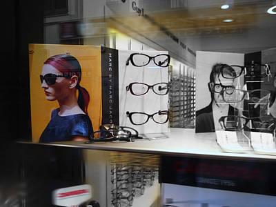 Glasses Digital Art - Que Pasa by Charles Stuart