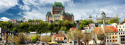 Quebec City Print by Photography Art