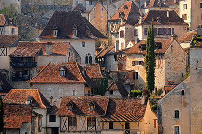 Haut Photograph - Quercy by Copyrights by Sigfrid López