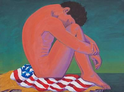 Patriotism Painting - Questioning Patriotism by Frank Strasser