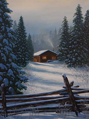 Quiet Refuge Original by Jake Vandenbrink