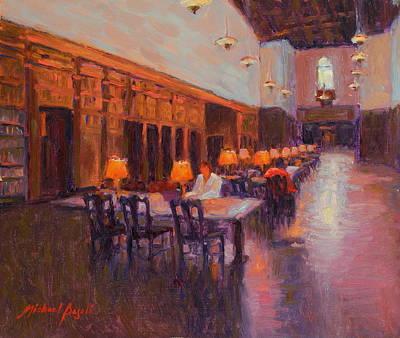 Quiet Study Original by Michael Besoli