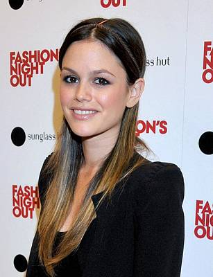 Rachel Bilson At A Public Appearance Print by Everett
