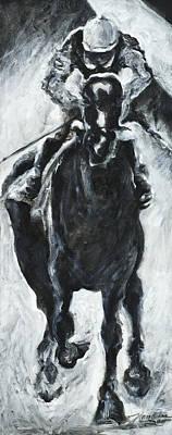 Racehorse Painting - Rachel by Francine Stuart