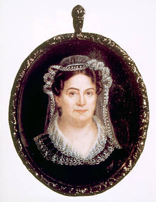 Rachel Jackson 1767-1828, Wife Print by Everett