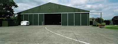 Raf Elvington Hangar Original by Jan W Faul