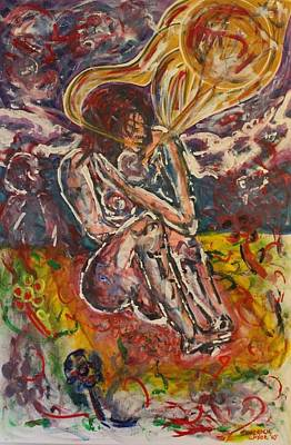 Rage Against Abortion Print by Shadrach Ensor